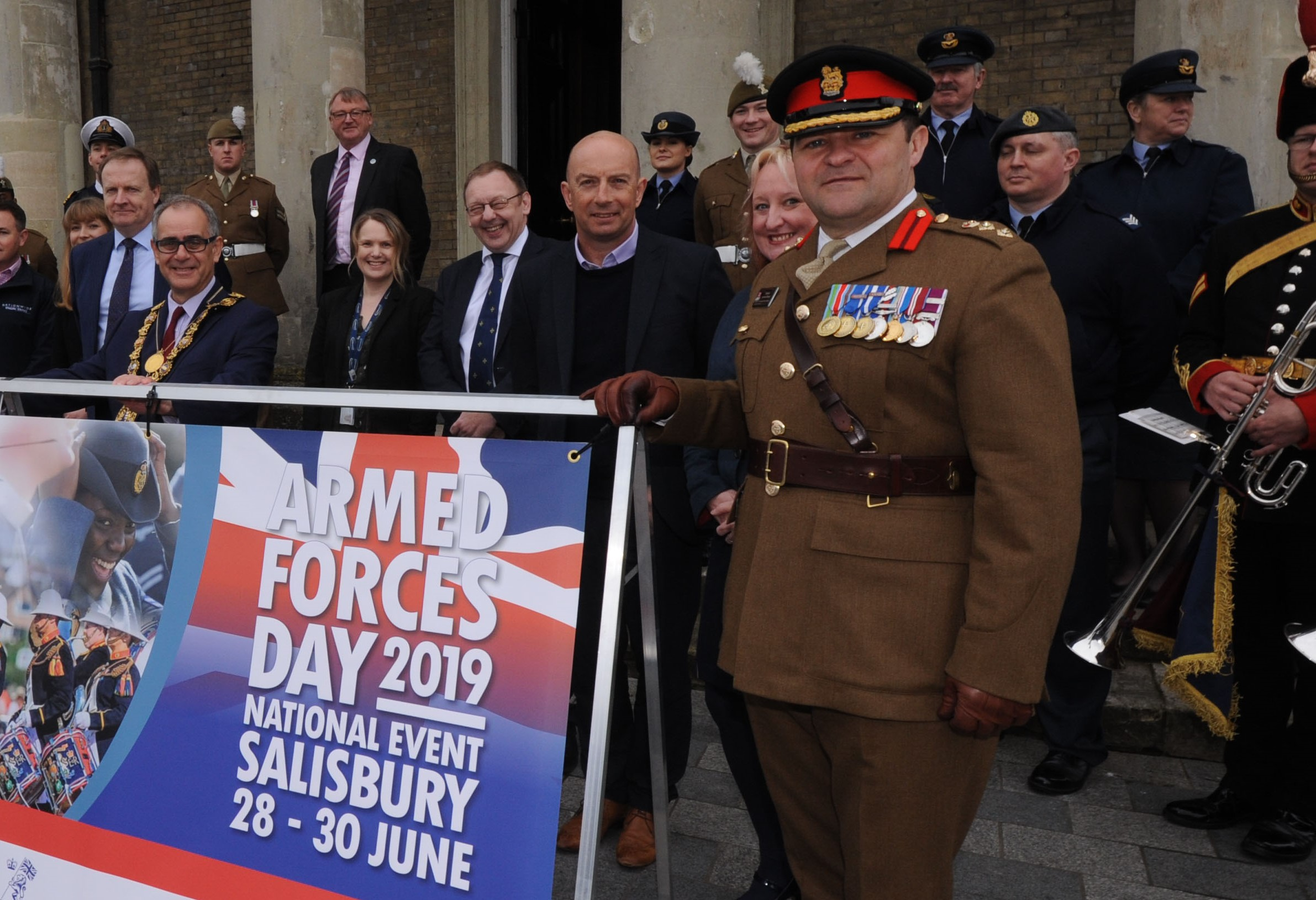 MiPermit sponsors Salisbury Armed Forces Day 2019